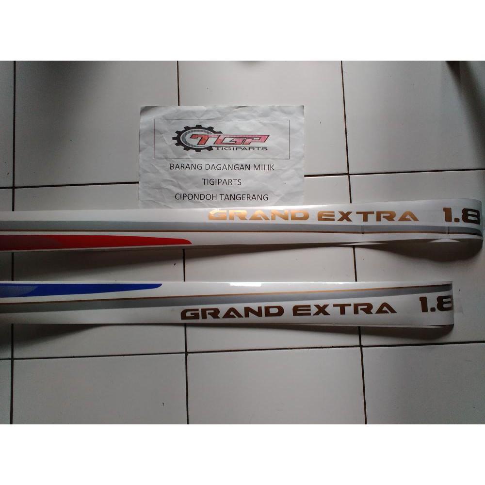 Striping Stiker Sticker List Body Mobil Trd Sportivo Toyota Daihatsu Scotlite Skotlet Antigores Hitam Transparan Riben 2 Shopee Indonesia