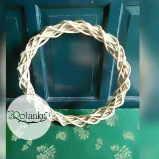 best seller ring rotan motif diameter 35cm | shopee indonesia