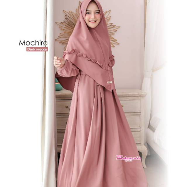 Mochira dress /distributor zabannia/agen zabannia/gamis zabannia/gamismurah
