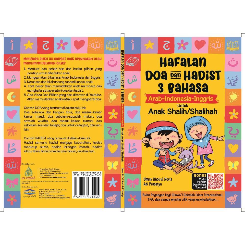 Hafalan Doa Dan Hadist 3 Bahasa Arab Indonesia Inggris Untuk Anak