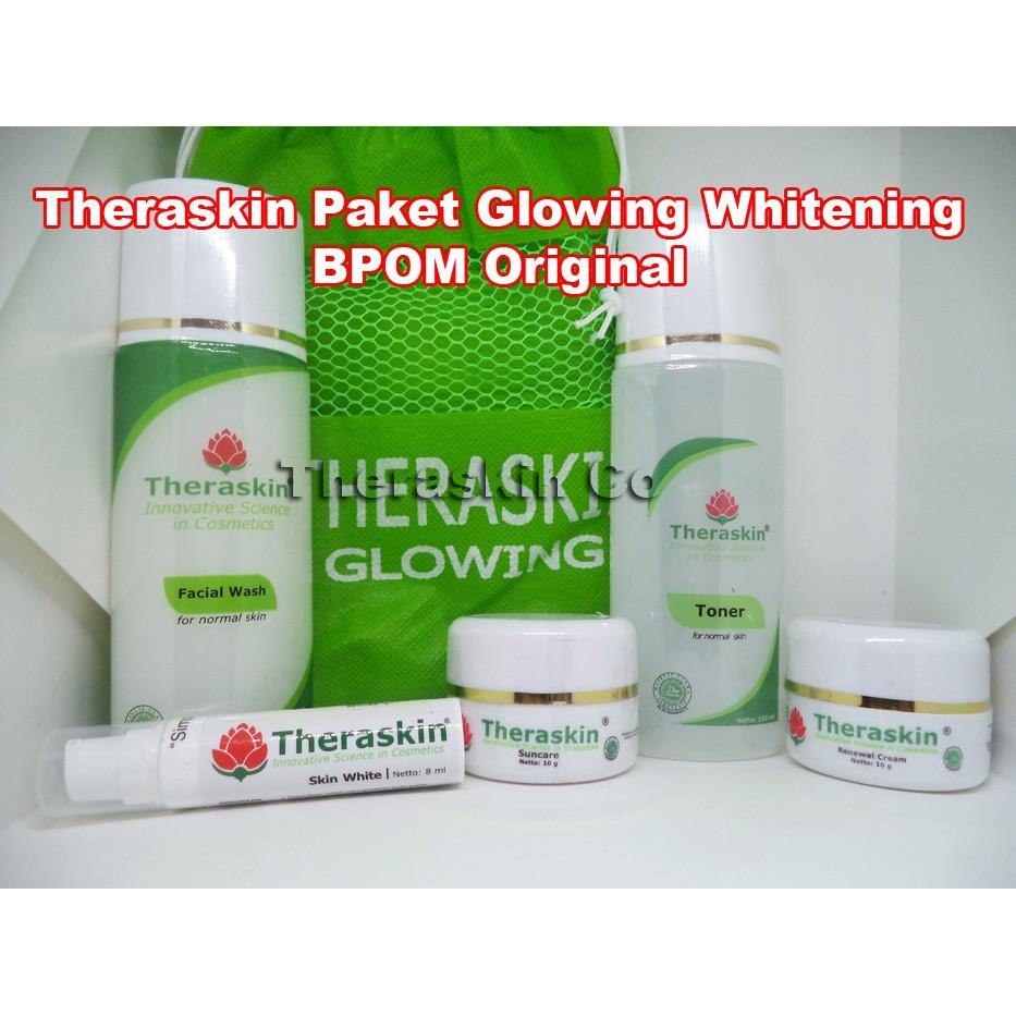 Paket Theraskin Paket Oily Original BPOM Obat Cream Kulit Berminyak Penghilang Bekas Jerawat | Shopee Indonesia