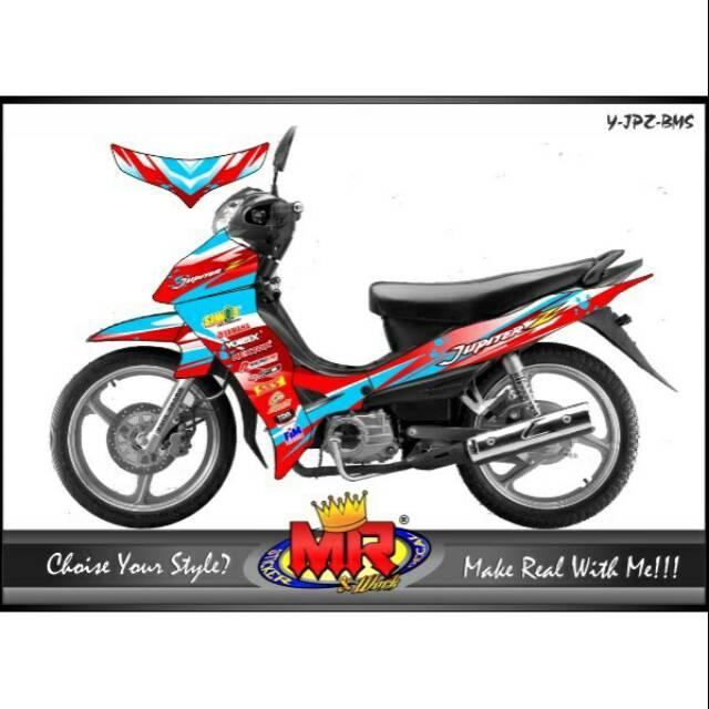 decal stiker sticker Shogun SP old - lama desain keren 01 spec A | Shopee Indonesia
