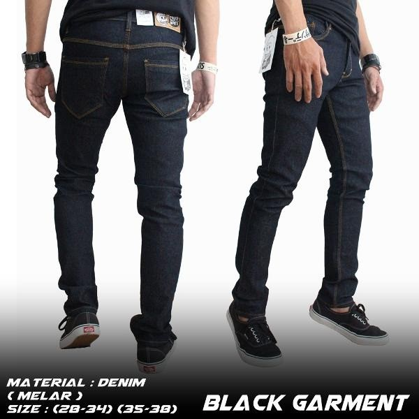 ┋❐Cardanwell Chunqiu black men's jeans slimming skinny small pants male Korean version of trendy t | Shopee Indonesia