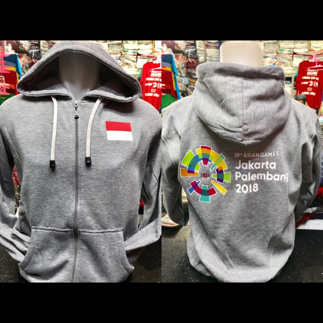 Jaket ASIAN GAMES Sweater INDONESIA