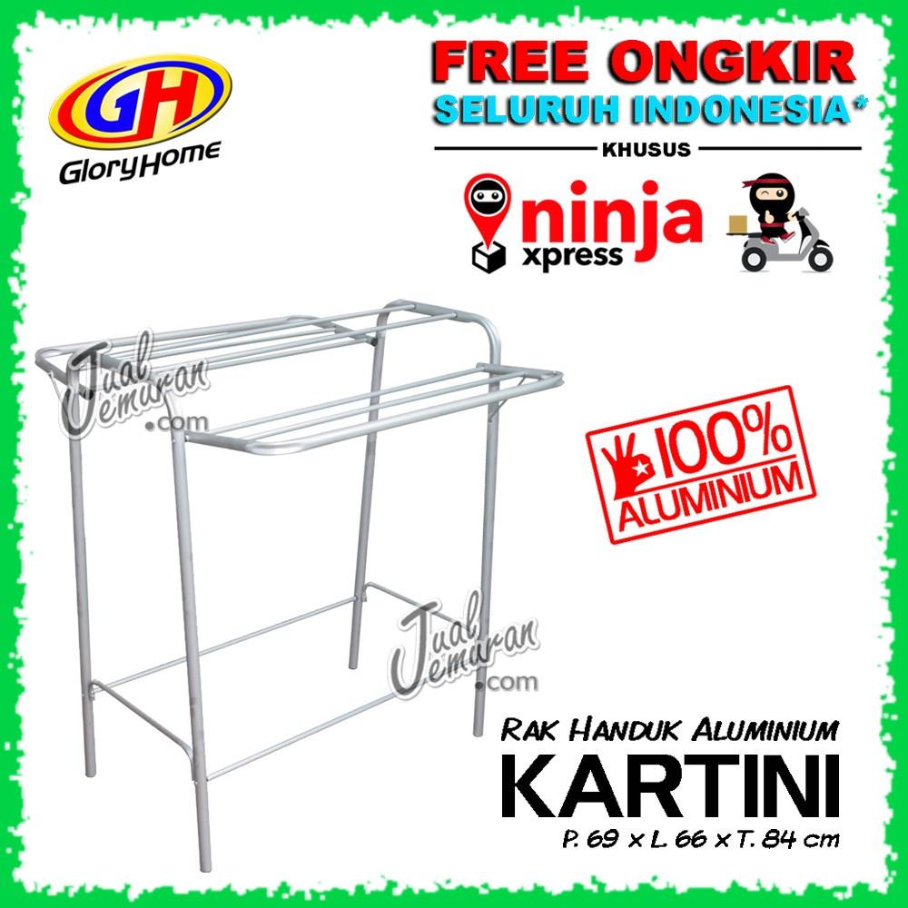 Rak Dinding Serbaguna Handuk Aluminium 3 Susun Shopee Indonesia