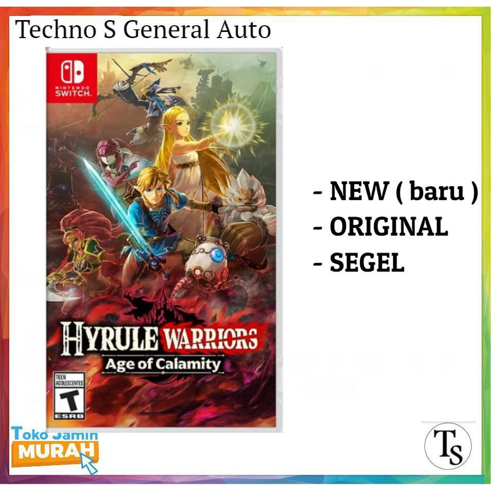 Nintendo Switch Hyrule Warriors Age Of Calamity Switch Hyrule Warrior Age Of Calamity Shopee Indonesia