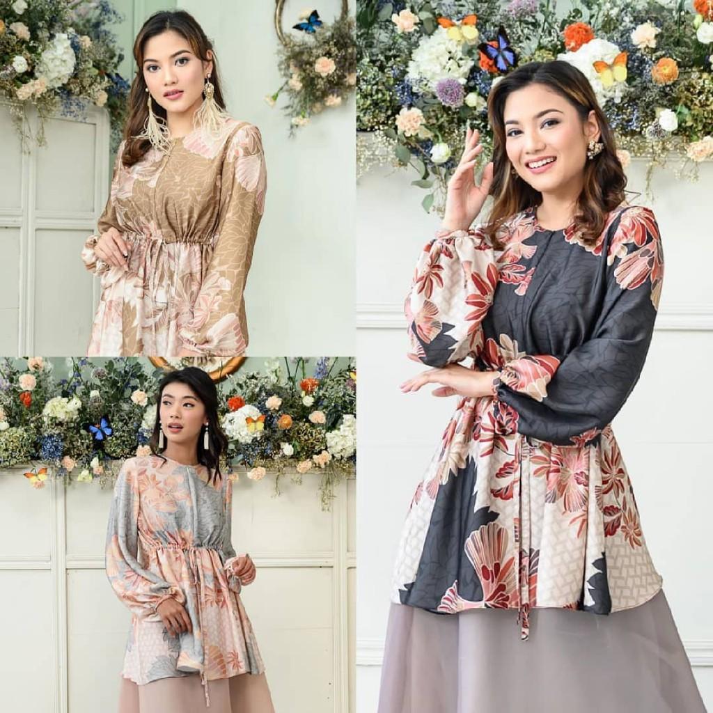 SIAP KIRIM Claire Blouse Crystal Ruby S Kyra Blouse  Sumbawa Blouse Anggrek Blouse by Wearing Klamby