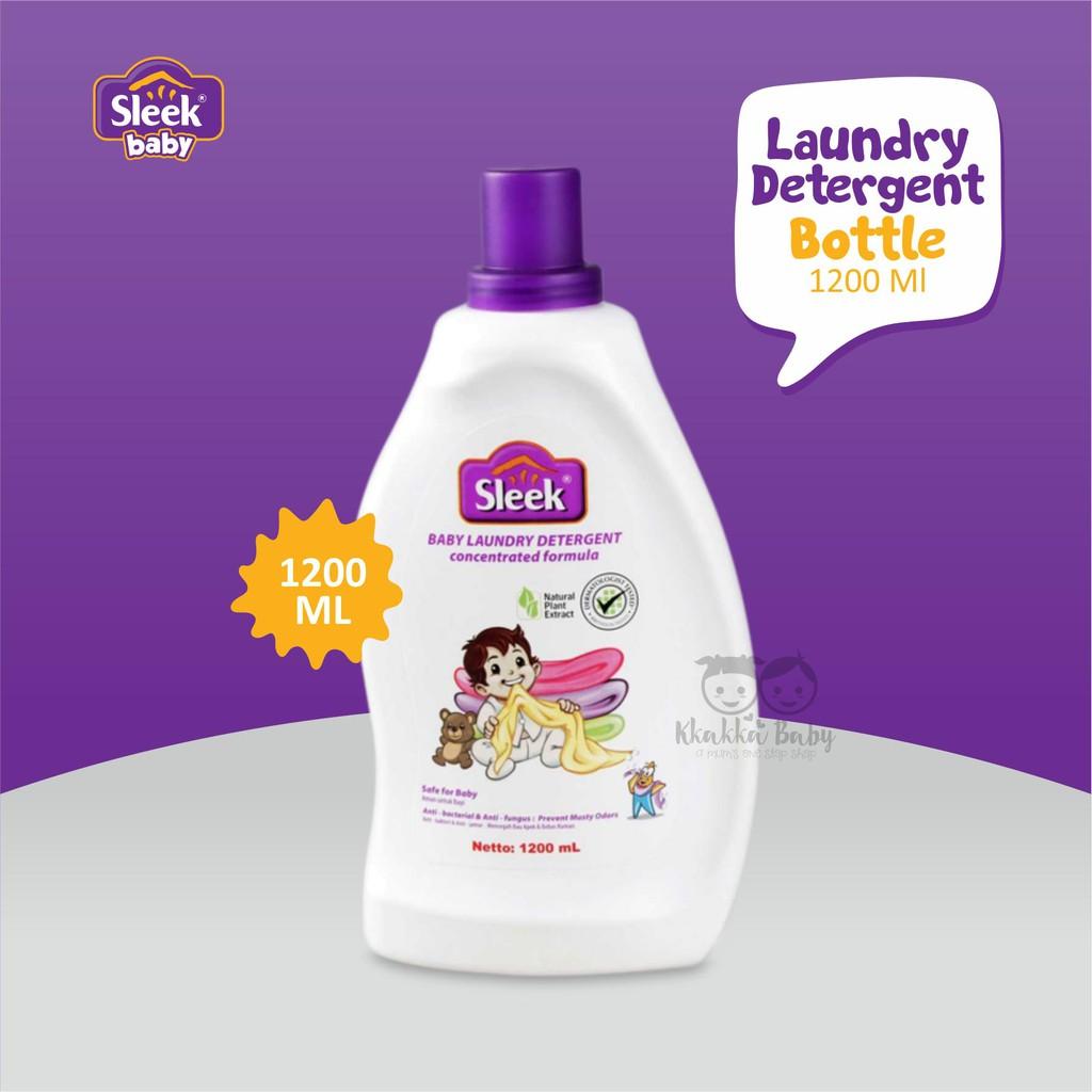 Sleek Baby Laundry Detergent Bottle 1200ml Shopee Indonesia 450ml