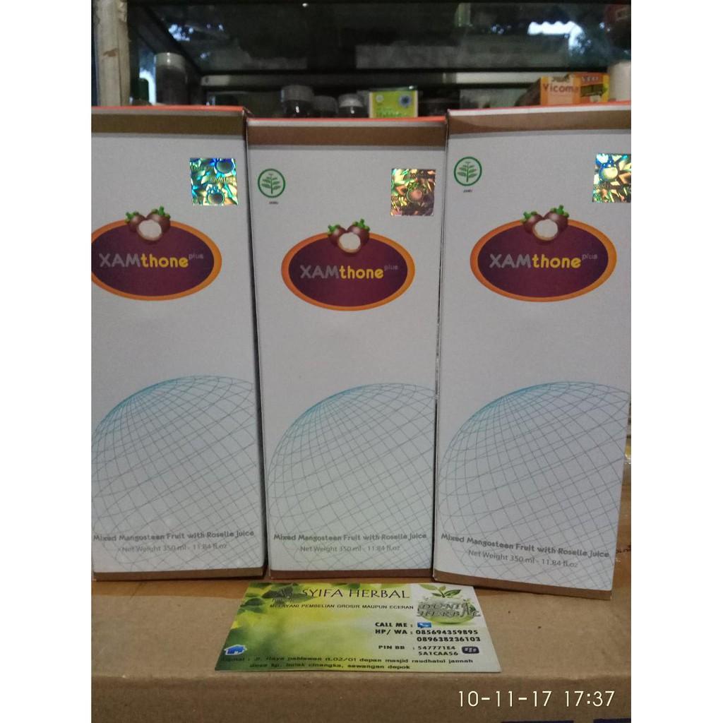 Jus Kulit Manggis Xamthone Plus Original Shopee Indonesia 350ml
