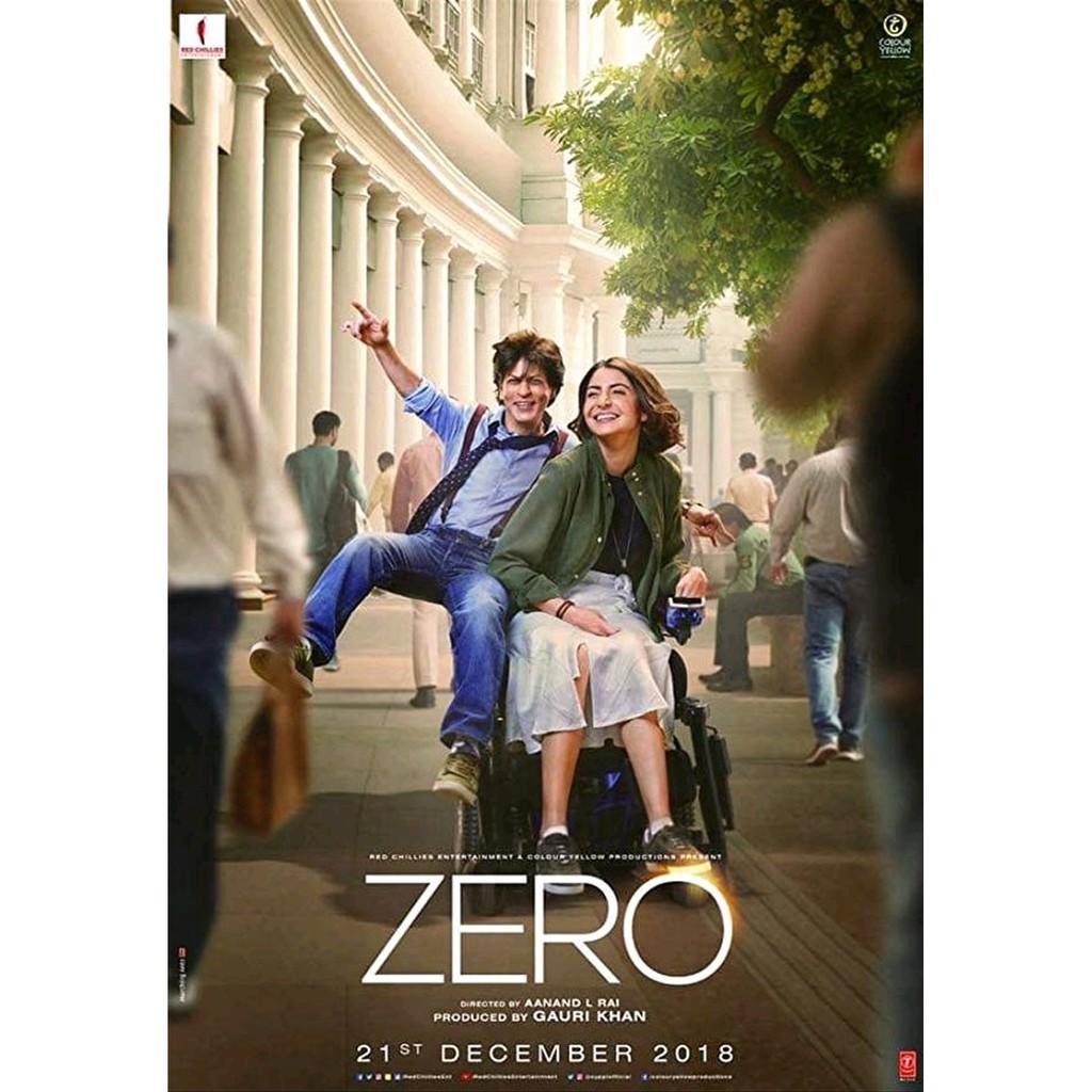 Kaset Dvd Film India Hollywood Drama Romantis Shah Rukh Khan ZERO