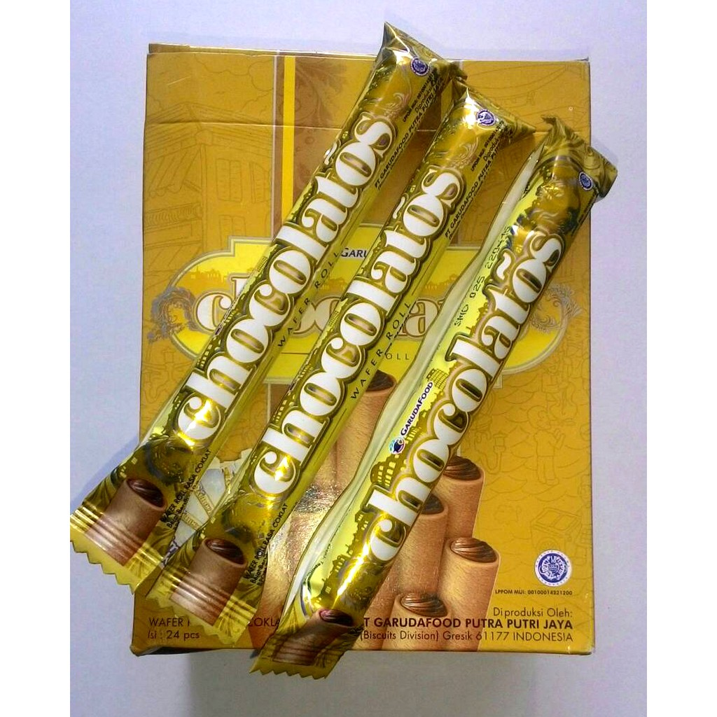 Chocolatos Wafer Roll Shopee Indonesia Gery Snack Ampamp Sereal 10g By Garudafood 1 Dus