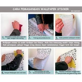Cara Memasang Wallpaper Sticker Shopee Indonesia