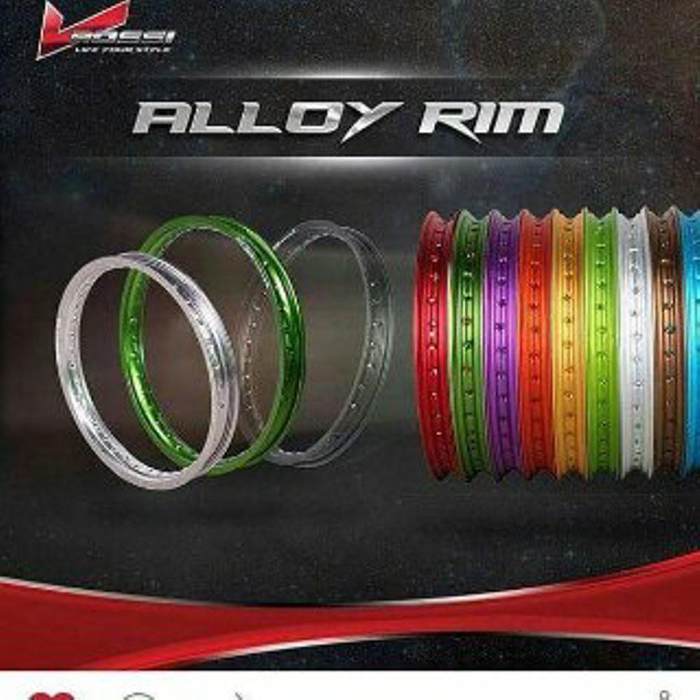 Velg Rossi 17 Master Veleg Ring 140 Wm Warna Lebar 1set 2pcs Kilat Shopee Indonesia