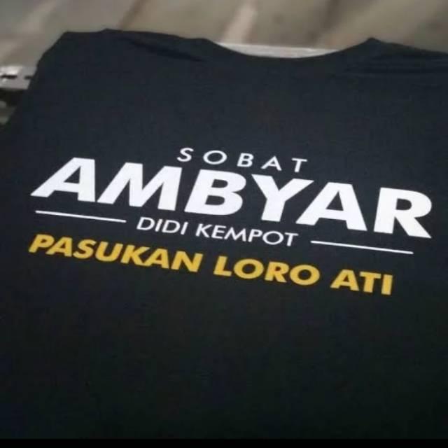 Kaos Distro Sobat Ambyar Didi Kempot Shopee Indonesia