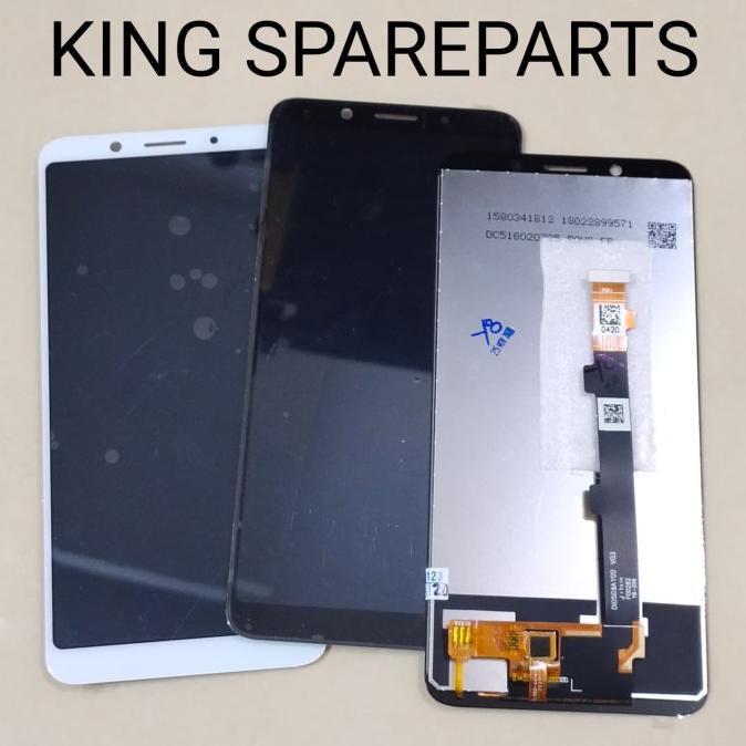 LCD + TOUCHSCREEN OPPO F5 F5 PLUS F5 YOUTH ORIGINAL - Hitam