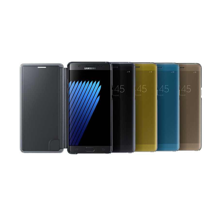 Official Samsung Clear View Cover Case Original for Galaxy Note FE (Fan Edition) | Shopee Indonesia