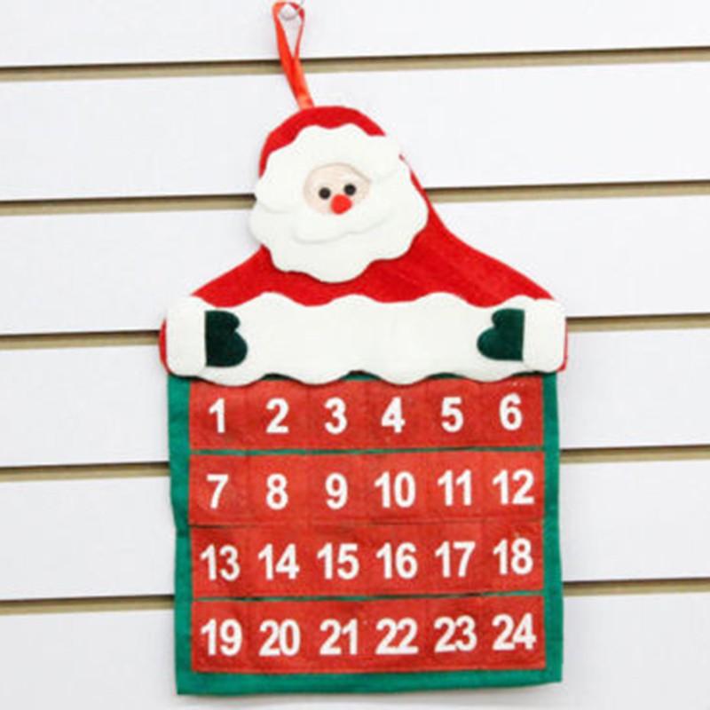 Smile for Santa Advent Calendar Countdown to Christmas Calendar