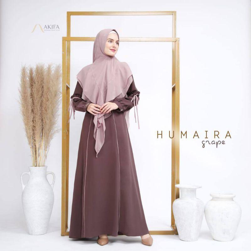 Humaira by Akifa/gamis set ori AKIFA