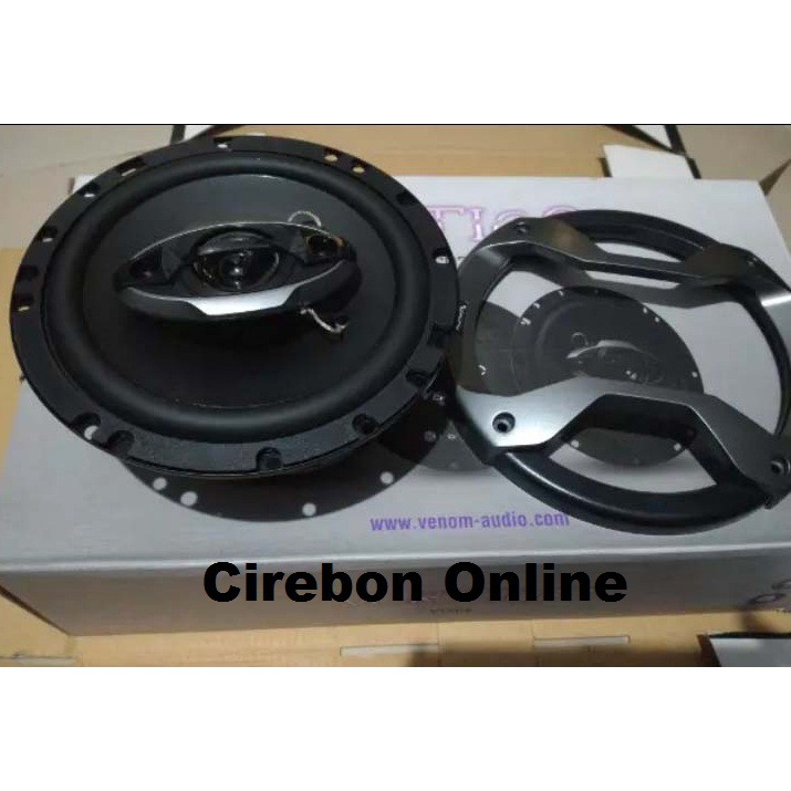 Speaker Venom Audio Vertigo Coaxial Vt 603 - Audio Mobil - Speaker Coax  Venom