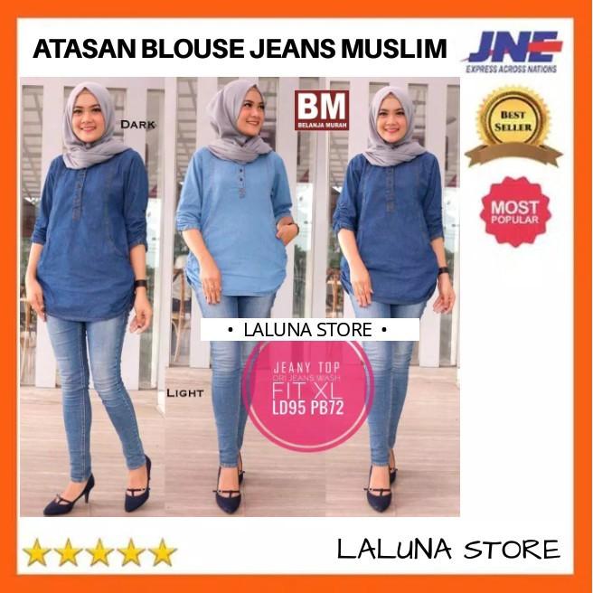 45be3dfdd3a pakaian+tunik+pakaian+wanita+blouse +jeans - Temukan Harga dan Penawaran  Online Terbaik - Januari 2019 | Shopee Indonesia