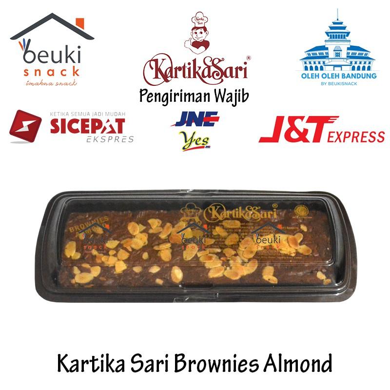 Kartika Sari Bandung Brownies Almond Nikmat Oleh Oleh Khas ...