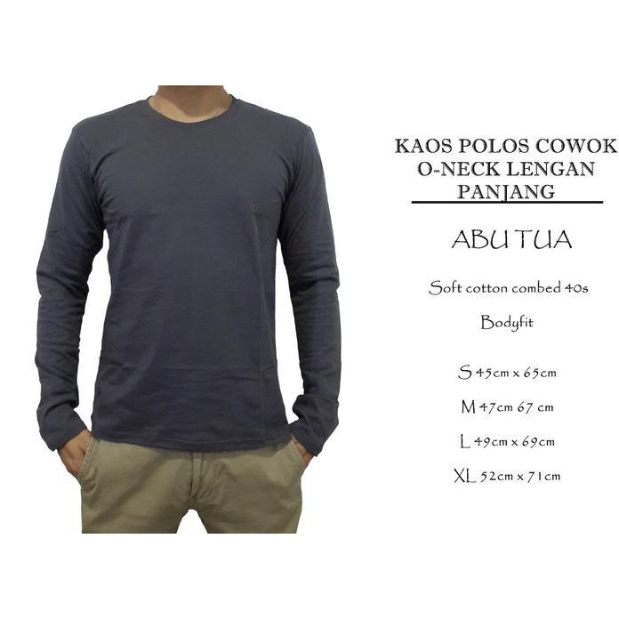 20S Kaos Lengan Navy Raglan Panjang , Baju Polos, Reglan Cowo / Cewe - Navy