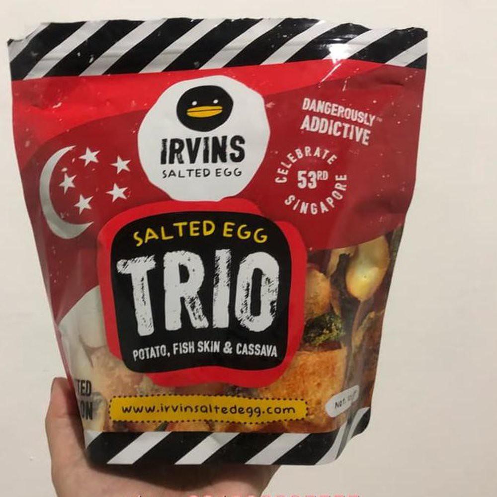 Irvins Salted Egg 105gram Small Irvin Egg0 Shopee Susu Milo 1 Kg Activ Go Malaysia Indonesia