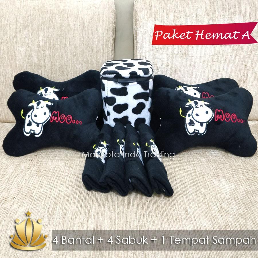 BANTAL MOBIL DORAEMON / TEMPAT SAMPAH DORAEMON / AKSESORIS MOBIL DORAEMON PAKET HEMAT | Shopee Indonesia