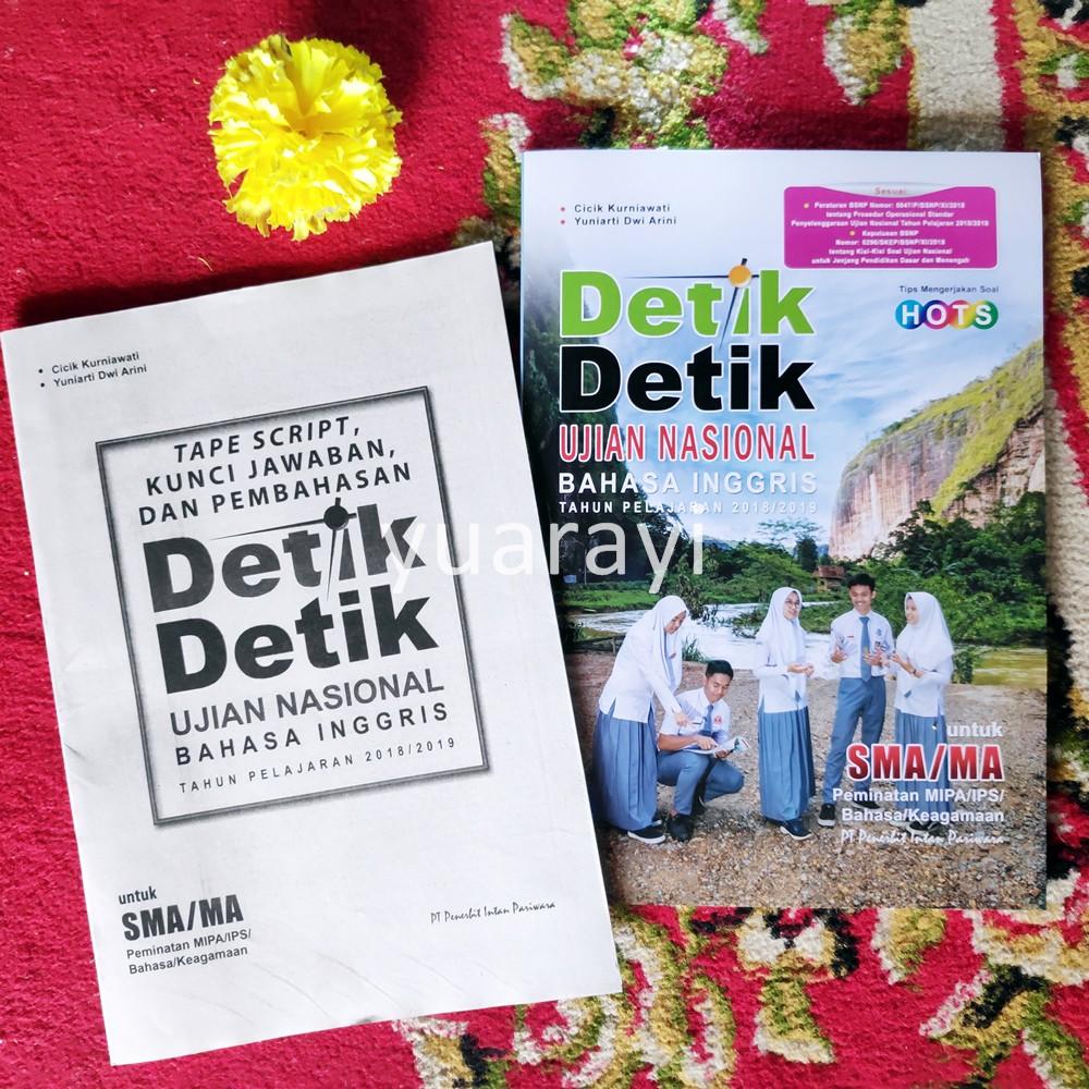 Detik Detik Un Sma Bahasa Inggris 2019 File Listening Kunci Shopee Indonesia