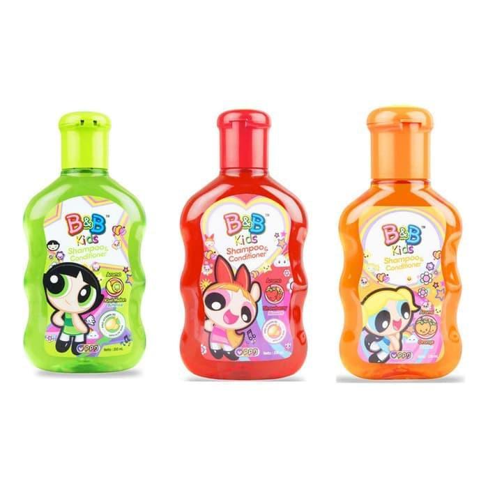 B&B Kids Shampoo and Conditioner