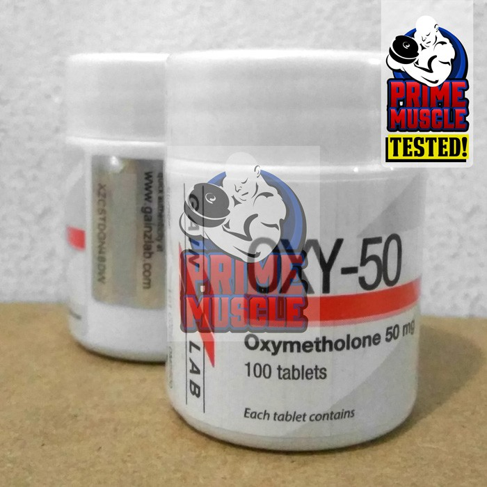 OXY-50 100 Tablet Gainz Lab ORI Oxybol Anadrol Oxy 50 mg Gain Z Lab  GainZLab Tablets