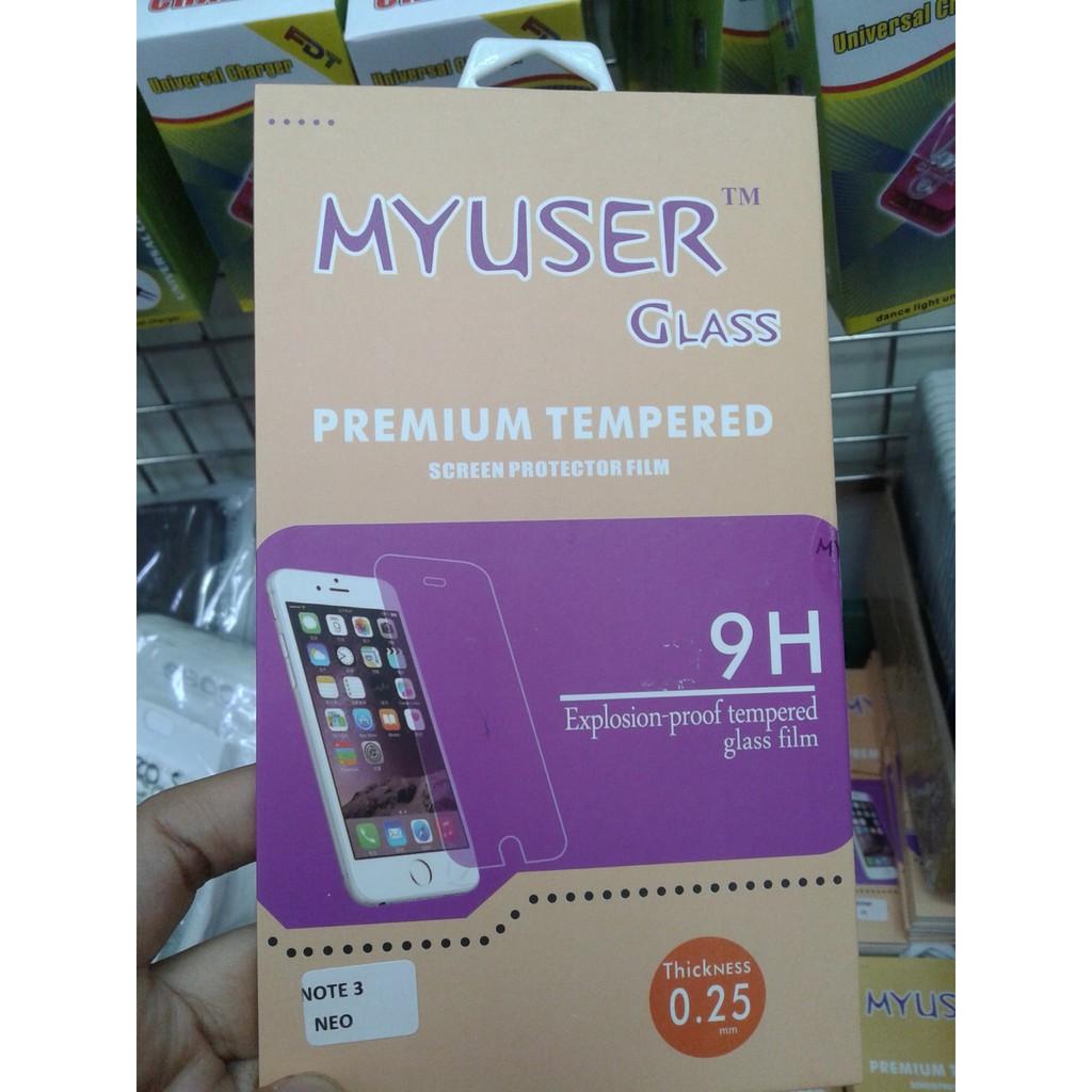 My User Tempered Glass Xiaomi Meizu Note 2 Screen Protector Shopee Myuser Redmi 4a Black Indonesia
