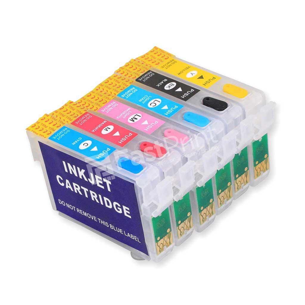 Cartridge Refill Mciss Kosongan Epson R1390 Kode T0851 T0856 Head Cleaner Standard Fastprint 20ml Plus Toolkit Pembersih Shopee Indonesia