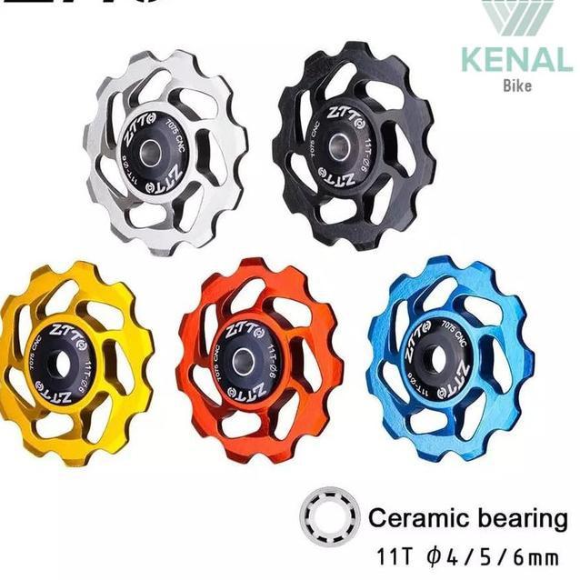 G3V8 Pulley RD ZTTO Ceramic Bearing 11t Rear Derailleur Jockey Wheel - Hitam 8BE