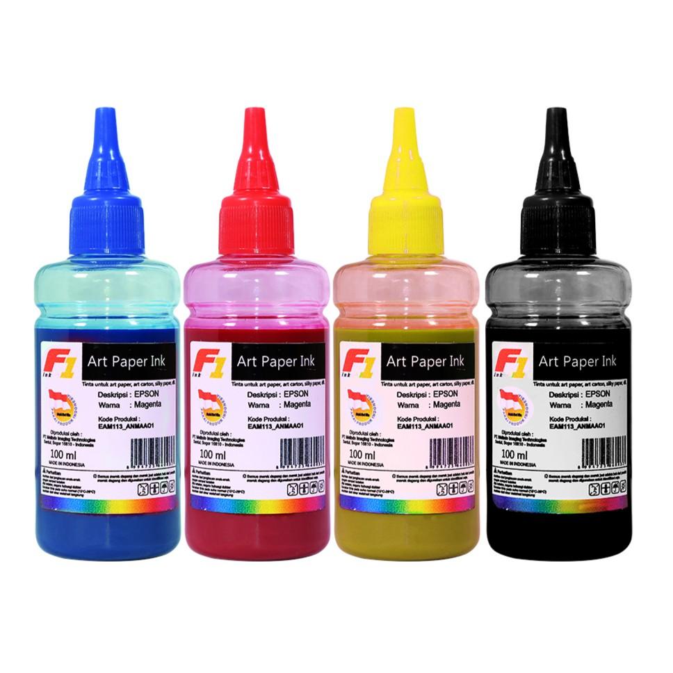 Tinta Printer Epson Seri T F1 Ink Original Cyan Magenta Yellow Refill Infuse System Untuk Hp Brother Canon Black 1kg Shopee Indonesia