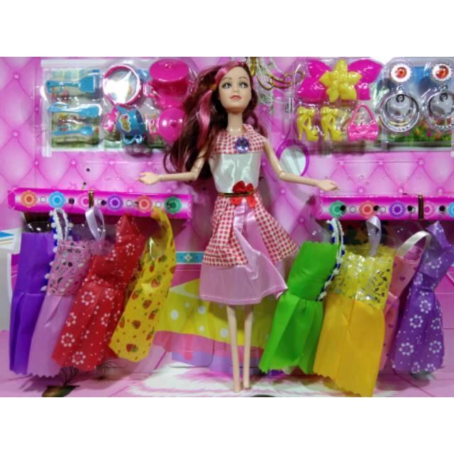 Boneka Barbie Alat Masak Set Aksesoris Besar Shopee Indonesia