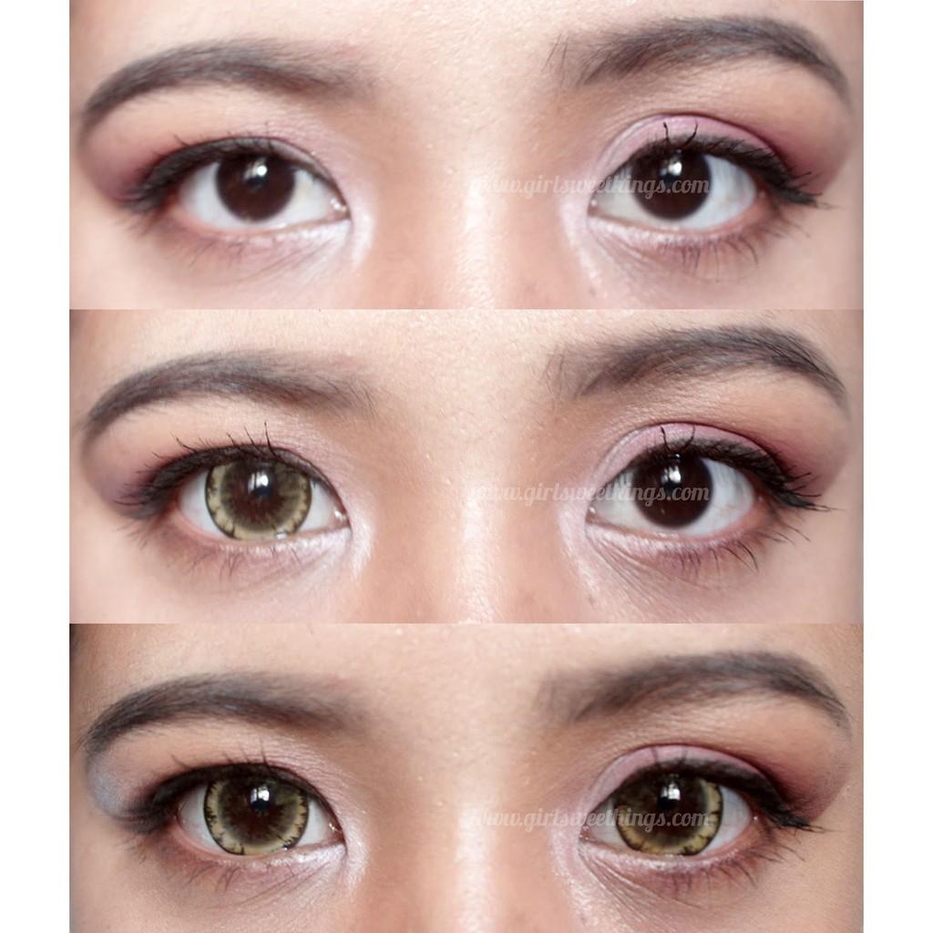 Softlens New Clover / Soft Lens Clover New KEMENKES - Brown | Shopee Indonesia