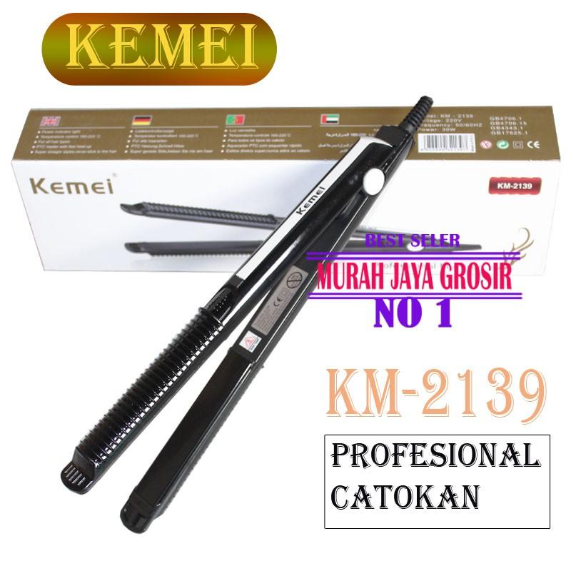 Kemei KM 2139 Catokan rambut Profesional Catok rambut Modern   Shopee Indonesia