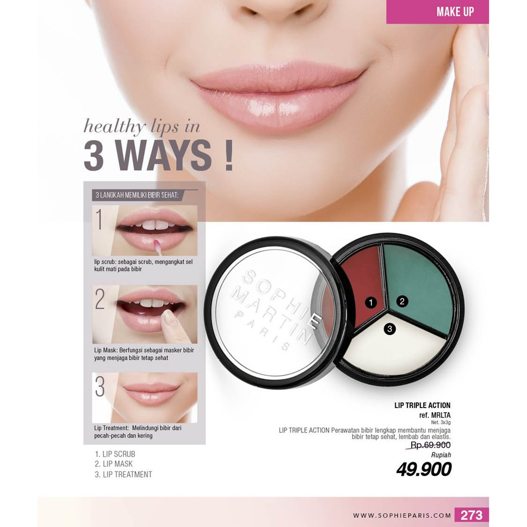 Peel Off Mask Masker Perawatan Wajah Sophie Paris Shopee Indonesia Bibir