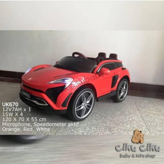 Mobil Mainan AKi AKI Unikid mobil aki mainan anak