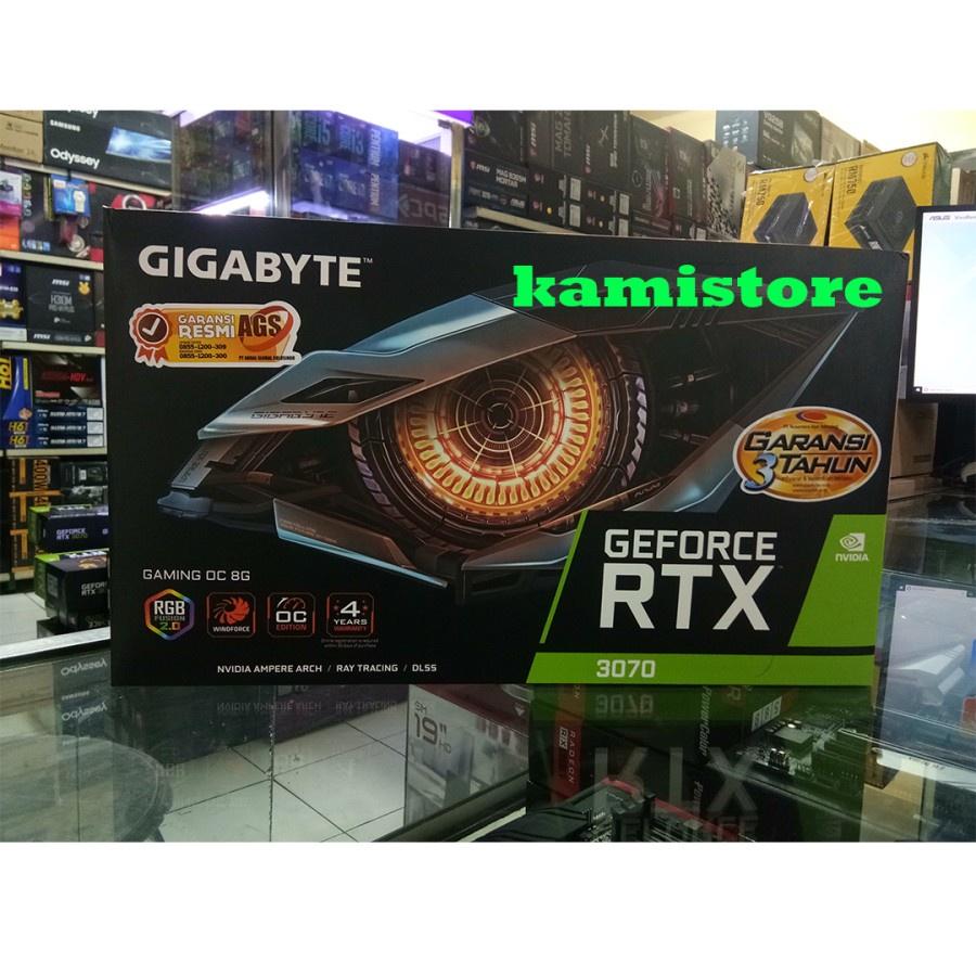 RTX 3070 8GB GIGABYTE GAMING OC VGA RTX 3070 GIGABYTE 8GB OC (NON LHR)