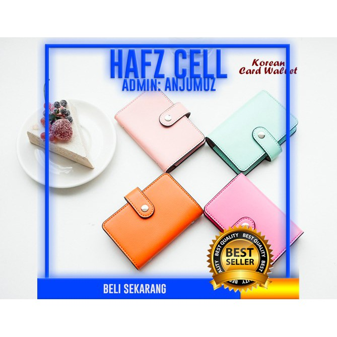 CARD HOLDER DOMPET KARTU BEST CARD HOLDER ORGANIZER KOREA MOTIF CUTE LUCU UNIK TERJUAL 172 LEBIH   Shopee Indonesia