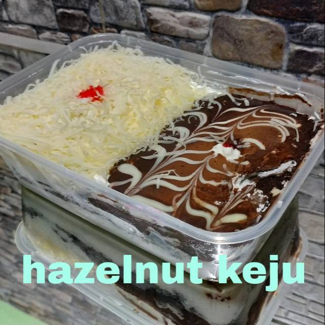 Hazelnut keju box