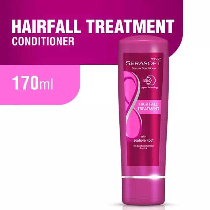 SERASOFT Perawatan Rambut   Shampoo 170ml  Serum Conditioner 170ml BPOM ORIGINAL by AILIN-2