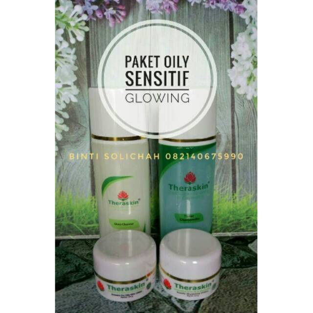 Theraskin paket glowing untuk kulit oily (berminyak) tapi sensitif | Shopee Indonesia