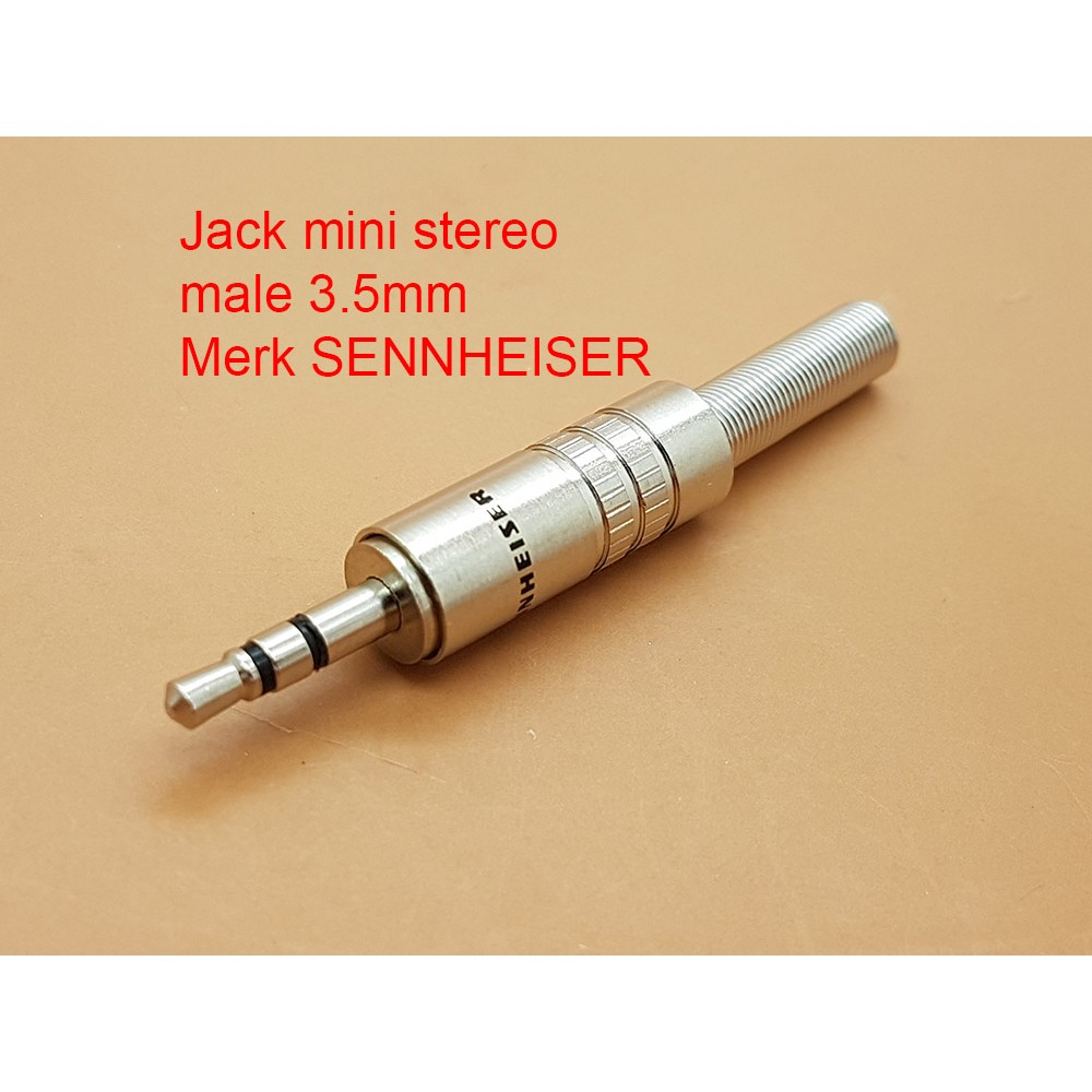 Jack Mini Stereo Male 35 Mm Model Drat Luar Canare Shopee Indonesia Converter To Akay