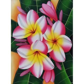 Lukisan Bunga Kamboja Lukisan Bali Lukisan Indah Lukisan Bagus Lukisan Cantik Shopee Indonesia
