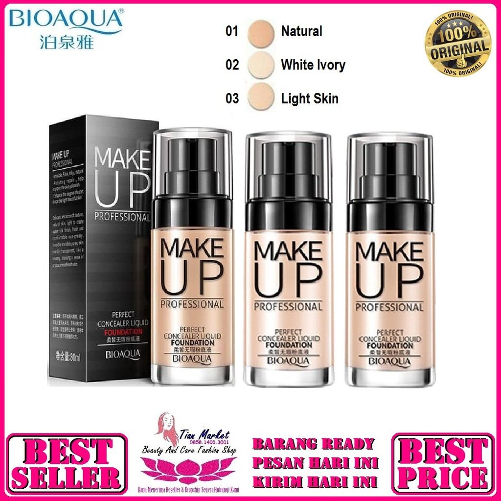 Foundation And Concealer Liquid Makeup