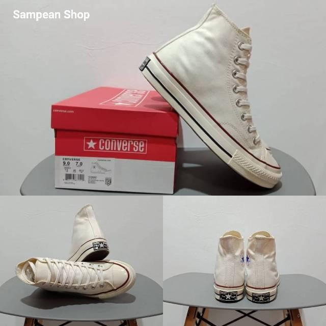 a904b711f18b Sepatu converse 1970S 70S SEVENTIES - All star Chuck Taylor HI off white  original premium VIETNAM