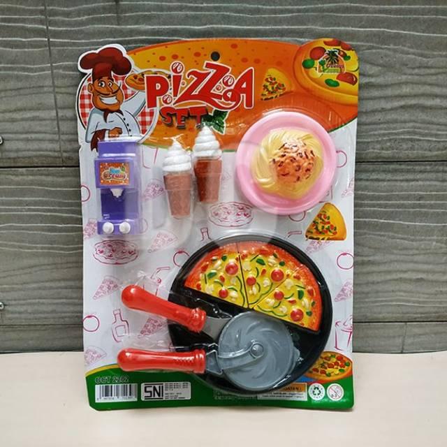 Mainan Pizza Set Masak Masakan Anak Murah Bagus Shopee Indonesia